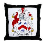 Aldworth Family Crest Throw Pillow