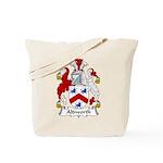 Aldworth Family Crest Tote Bag