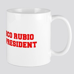 Marco Rubio for President-Fre red 600 Mugs