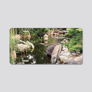 Himeji Japanese garden, Ade Aluminum License Plate
