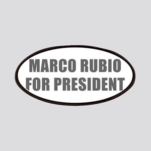Marco Rubio for President-Imp gray 600 Patch