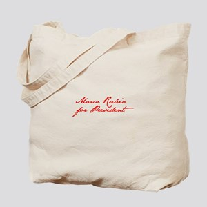 Marco Rubio for President-Jan red 400 Tote Bag