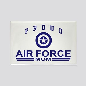Proud Air force Mom Rectangle Magnet