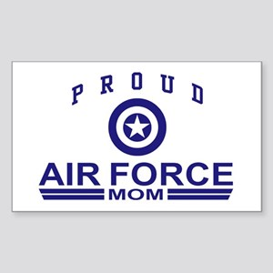 Proud Air force Mom Rectangle Sticker