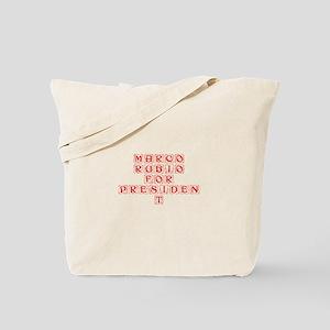 Marco Rubio for President-Kon red 460 Tote Bag