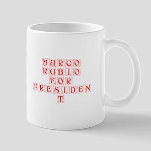 Marco Rubio for President-Kon red 460 Mugs