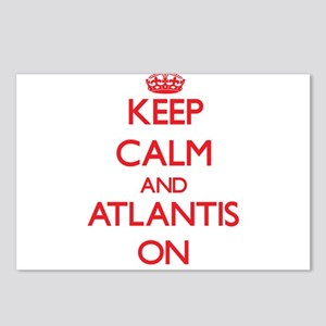 Keep Calm and Atlantis ON Postcards (Package of 8)