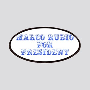 Marco Rubio for President-Max blue 400 Patch