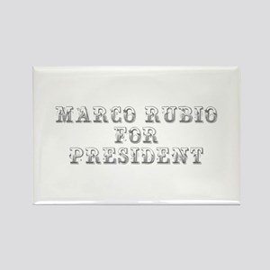 Marco Rubio for President-Max gray 400 Magnets