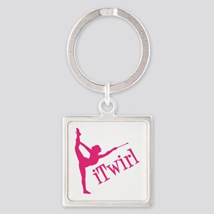 iTWIRL Square Keychain