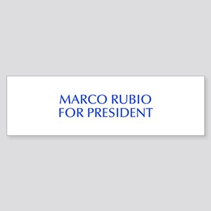 Marco Rubio for President-Opt blue 550 Bumper Stic