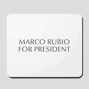 Marco Rubio for President-Opt gray 550 Mousepad