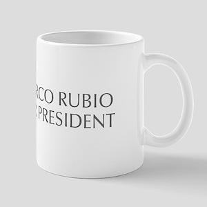 Marco Rubio for President-Opt gray 550 Mugs