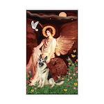 Seated Angel / G-Shepherd Sticker (Rectangle)