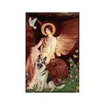 Seated Angel / G-Shepherd Rectangle Magnet