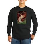 Seated Angel / G-Shepherd Long Sleeve Dark T-Shirt