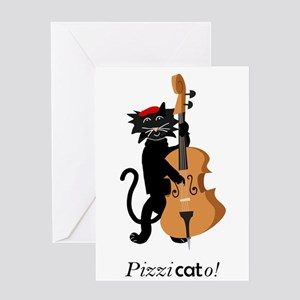 Pizzicato! Greeting Cards