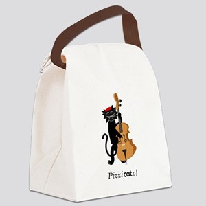 Pizzicato! Canvas Lunch Bag