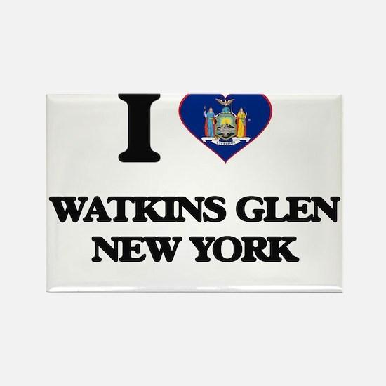 I love Watkins Glen New York Magnets