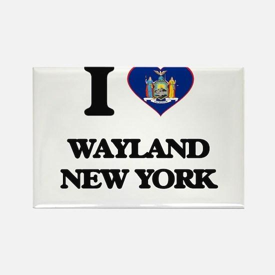 I love Wayland New York Magnets