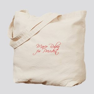Marco Rubio for President-Scr red 440 Tote Bag