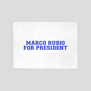 Marco Rubio for President-Var blue 500 5'x7'Area R