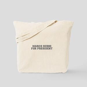 Marco Rubio for President-Var gray 500 Tote Bag