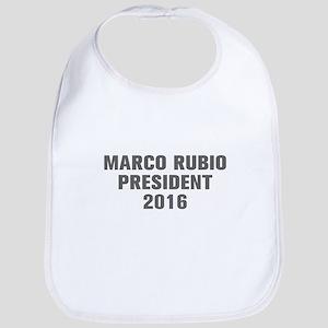 Marco Rubio President 2016-Akz gray 500 Bib