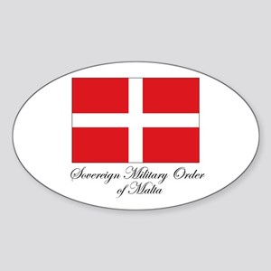 Sovereign Military Order of M Oval Sticker