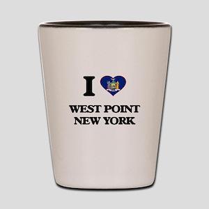 I love West Point New York Shot Glass