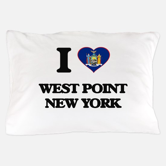 I love West Point New York Pillow Case