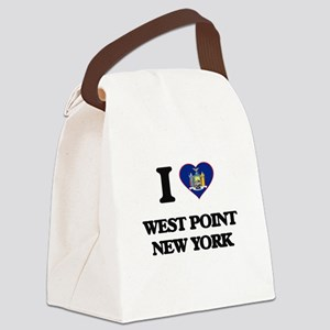 I love West Point New York Canvas Lunch Bag