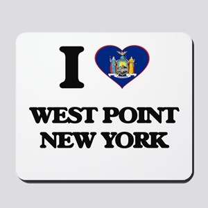I love West Point New York Mousepad