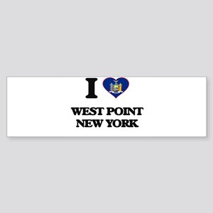 I love West Point New York Bumper Sticker