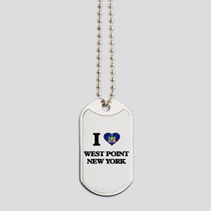 I love West Point New York Dog Tags