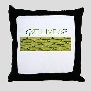 Got Limes? Throw Pillow