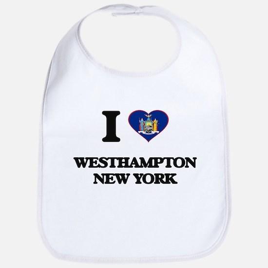 I love Westhampton New York Bib