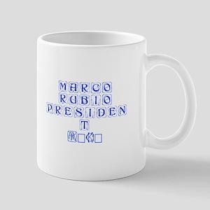 Marco Rubio President 2016-Kon blue 460 Mugs