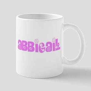 Abbigail Flower Design Mugs