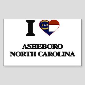 I love Asheboro North Carolina Sticker