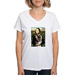 Mona's G-Shepherd Women's V-Neck T-Shirt
