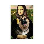 Mona's G-Shepherd Rectangle Magnet (10 pack)