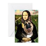 Mona's G-Shepherd Greeting Cards (Pk of 20)