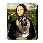 Mona's G-Shepherd Mousepad
