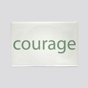 courage Rectangle Magnet