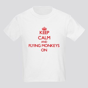 Keep Calm and Flying Monkeys ON T-Shirt