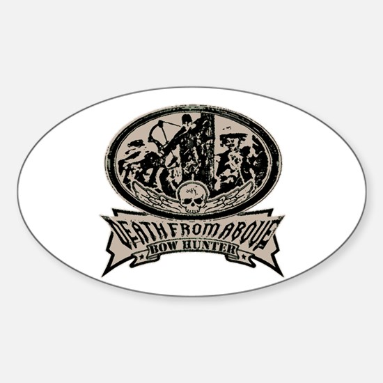 Death from above Oval Decal