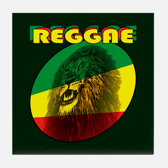 Reggae Tile Coaster