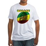 Reggae Fitted T-Shirt