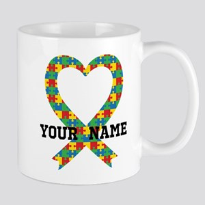 Personalized Autism Awareness Mugs